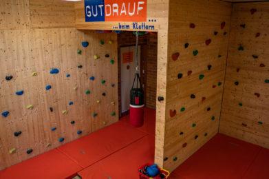 Kletterwand Grundschule Egloffstein