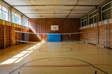 Turnhalle, Theaterbühne Grundschule Egloffstein
